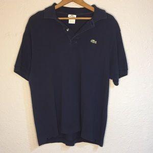 Lacoste Men's polo shirt dark blue size 6 Men's L